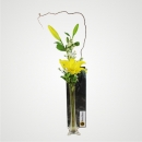 Lilies in Vase - Yellow
