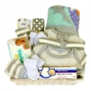 Baby Hamper Stripes