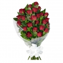 24 Red roses in Wrap