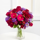 Romantic Bouquet in Purple Colours