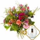 Combi bouquet: A big gesture including a vase Perfect Vintage Deluxe S from € 15,00