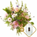 Combi bouquet: Especially for you including a vase Perfect Vintage S from € 10,00