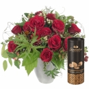 Bouquet I Love You, with Gottlieber cocoa almonds