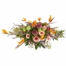 Funeral: Hidden present; Funeral Bouquet Grouped
