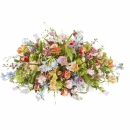 Funeral: Plenty in life; Funeral Bouquet Oval