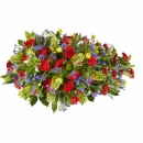 Funeral: Wonderfully beautifull; Funeral Bouquet Drop