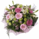 Bouquet in pastel shades