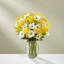 The Sunny Sentiments Bouquet - VASE INCLUDED