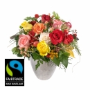 Bellissima with Fairtrade Max Havelaar-Roses - Small Blooms