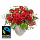 For my Sweetheart! with Fairtrade Max Havelaar-Roses - Small Blooms