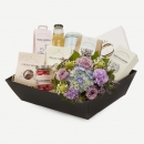 Gift box with bouquet, florist's choice
